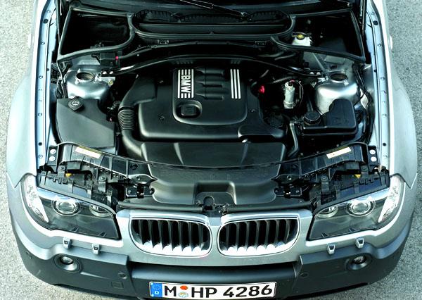 BMW X3 v prodeji od září 2004 s novým motorem 2.0d