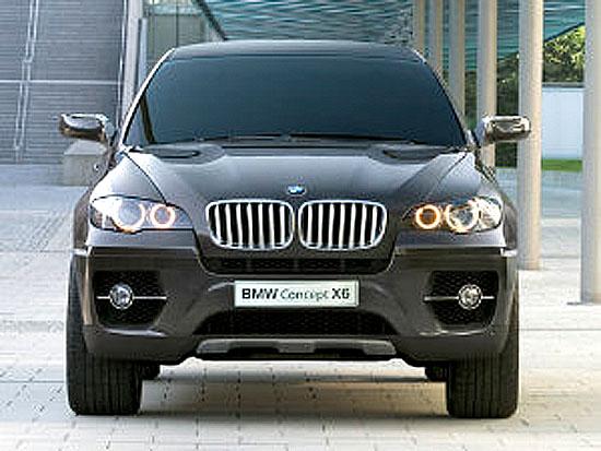 BMW Concept X6: první Sports Activity Coupé na světě.