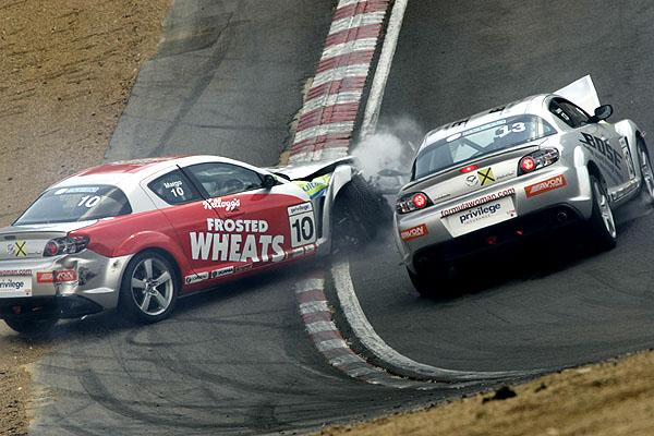 Poslední dva závody poháru Mazda RX-8 Formula Woman