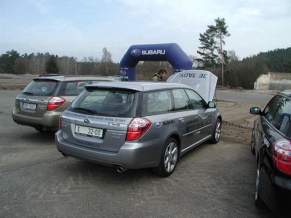 Subaru Legacy/Outback snovým dieselovým motorem Subaru 2,0 D vprodeji na našem trhu