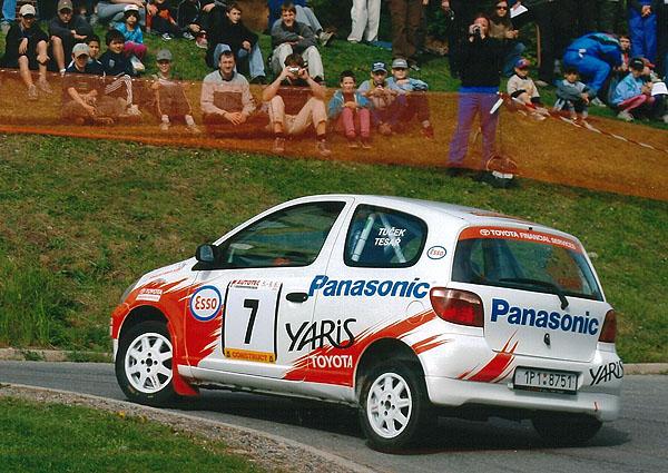 Poprvé vkariéře bude startovat Marcel Tuček svozem Toyota Yaris 1.3 včeskokrumlovské SEAT Rallye