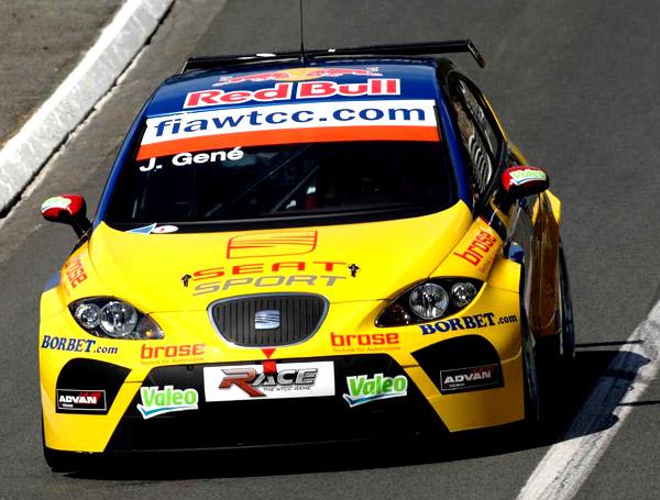 SEATy Leon na FIA World Touring Car Championship 16. a 17. června v Brně