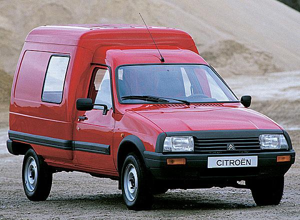 20. výročí výroby modelu Citroen C15