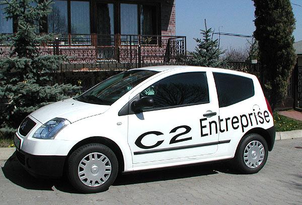 Citroen C2 Entreprise: malý velký pomocník