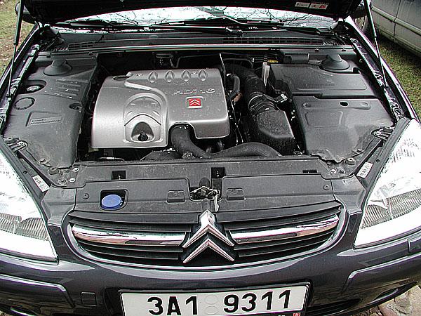 Citroen C5 s výkonným turbodieselem 2,2 HDi v testu redakce