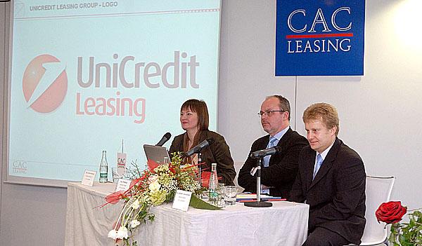CAC LEASING financoval v roce 2006 klientům předměty za 14,766 mld. Kč