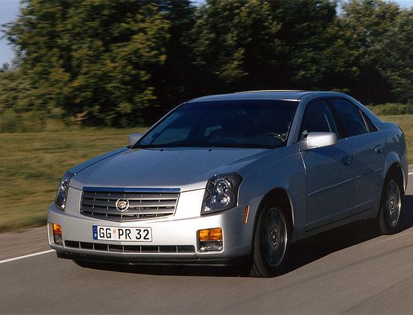 Cadillac CTS na evropský trh vroce 2002