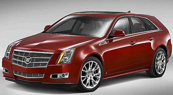 Renesance značky Cadillac dostává novou formu: Cadillac CTS Sport Wagon