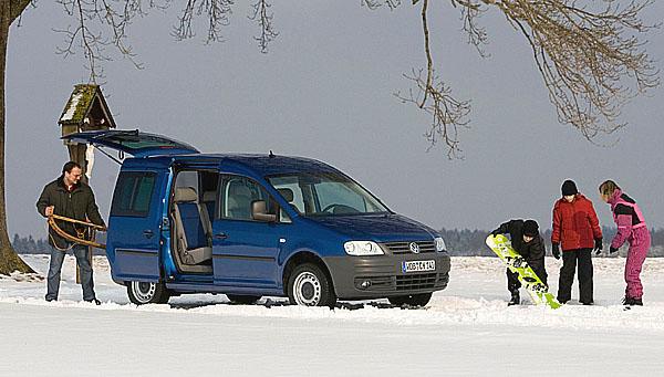 Nový akční model VW Caddy Family a Caddy kombi Family N1