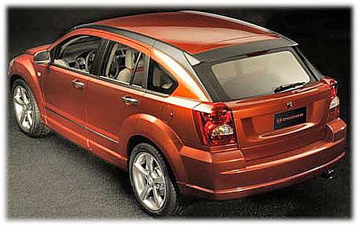 Dodge představil 1. března na autosalonu v Ženevě koncepční studii Dodge Caliber