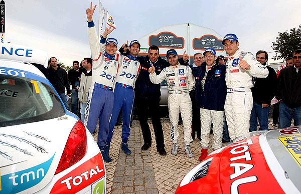 V Poháru konstruktérů Portugalska 2007 první Peugeot.
