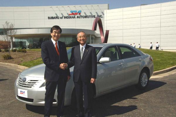 Společnost Fuji Heavy Industries zahajuje ve Spojených státech výrobu Toyoty Camry