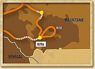Přehled etap Rallye Dakar 2008