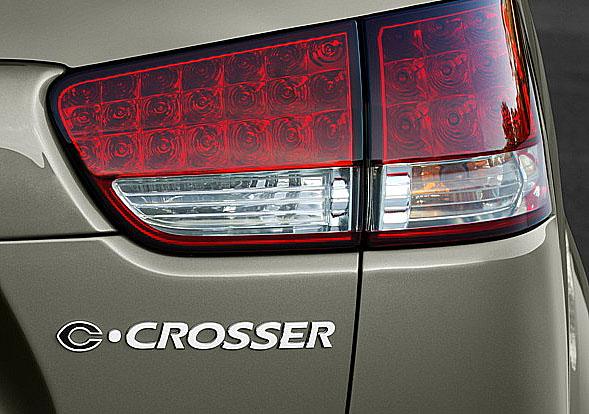 Luxusní SUV Citroen C-Crosser do prodeje v létě 2007