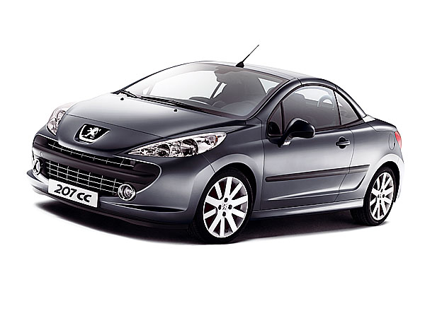 Podrobně o Peugeotu 207 Coupé Cabriolet 2+2