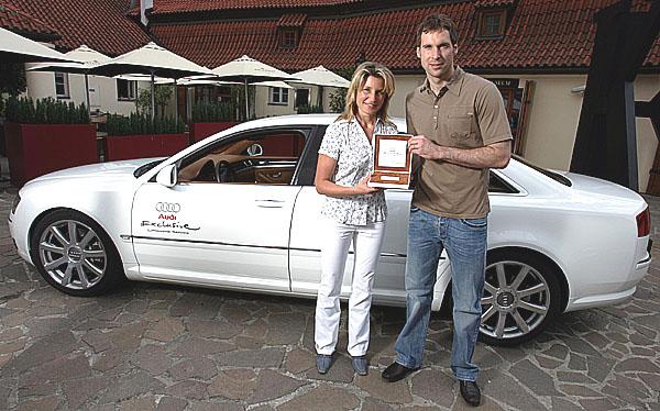 Petr Čech rozšířil řady klientů unikátní služby Audi Exclusive Limousine Service