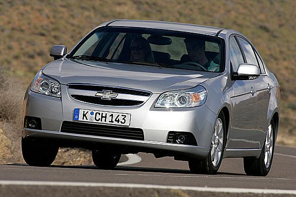 Chevrolet oznamuje ceny modelů Epica