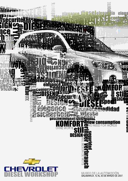 Mladí umělci ze Španělska tvořili postery pro Chevrolet