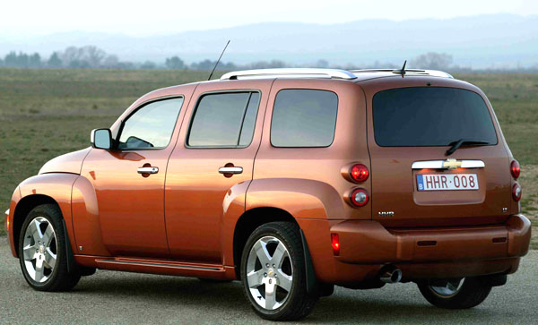 Chevrolet na březnovém Autosalonu v Ženevě představí nový model HHR
