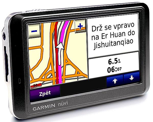 Garmin uvádí speciální olympijskou mapu