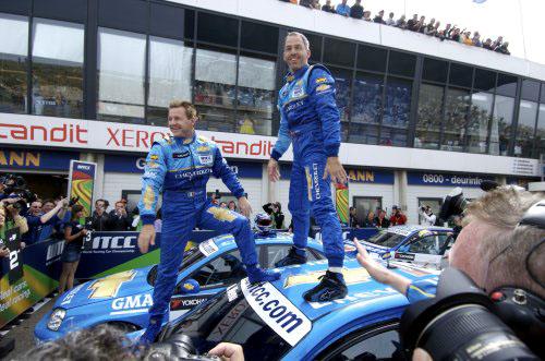 WTCC Zandvoort: 1. a 2. místo pro CHEVROLET!