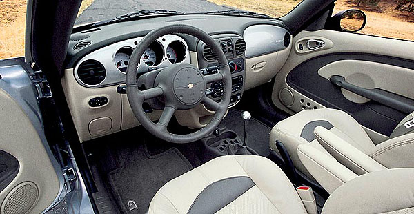 S novým kabrioletem Chrysler PT Cruiser je nebe na dosah