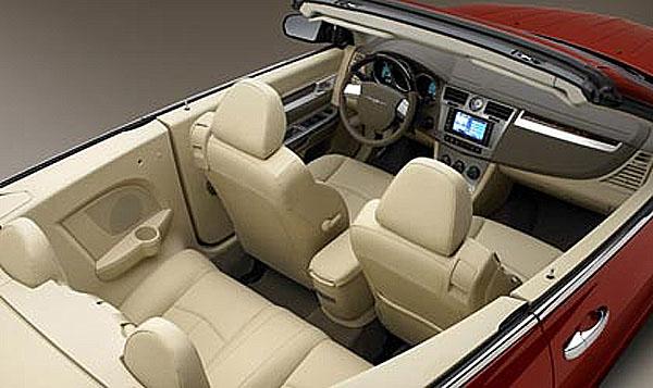 Zcela nový Chrysler Sebring Cabrio na Autosalónu vŽenevě