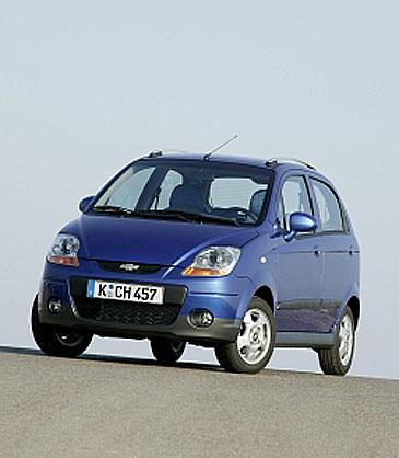 """Chevrolet Spark - nejprodávanější """"mini"""" vČR v roce 2007 a stejně tak v lednu 2008 opět první ve své třídě!"""
