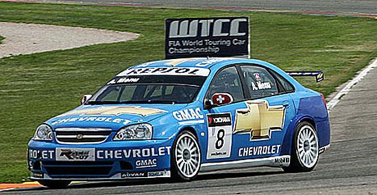 Chevrolet Lacetti ovládl závod ve Valencii