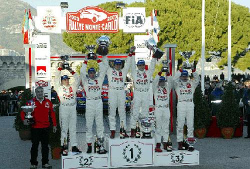 Historický úspěch značky Citroën na letošním lednovém 71. Rallye Monte Carlo