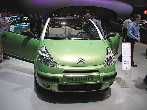 Citroën C3 Pluriel zvolen mezinárodní porotou kabrioletem roku 2003