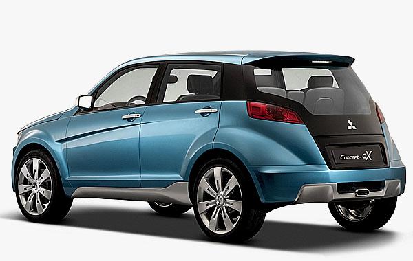 Mitsubishi představil na autosalonu ve Frankfurtu Concept-cX
