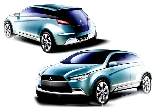 Mitsubishi v září představí studii THE MITSUBISHI CONCEPT-cX
