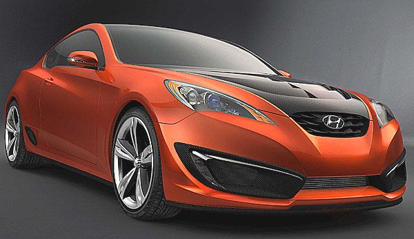 Hyundai představuje studii sportovního kupé Genesis Coupe