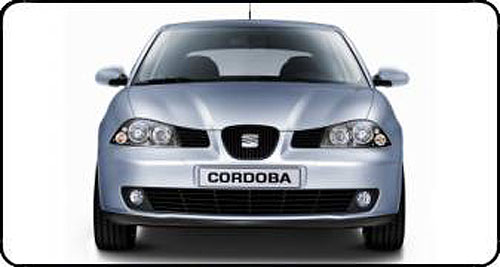 Nový sedan SEAT Cordoba od soboty 1. února na našem trhu