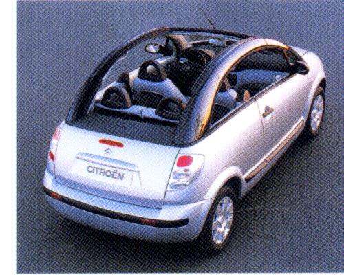 Citroën Pluriel sklízí úspěchy