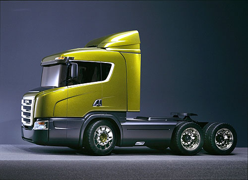 Scania představuje novou koncepci nárazové zóny pro nákladní vozidla