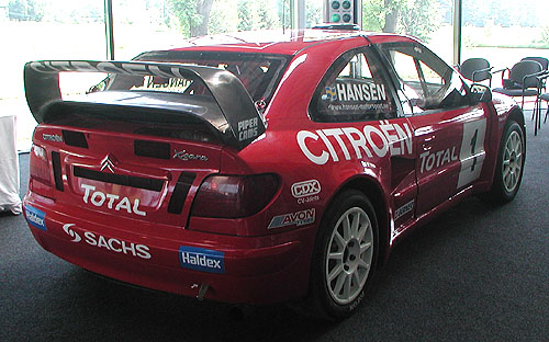FIA Mistrovství Evropy v Rallycrossu 2004: 5.- 6.6.2004 - Sosnová u České Lípy