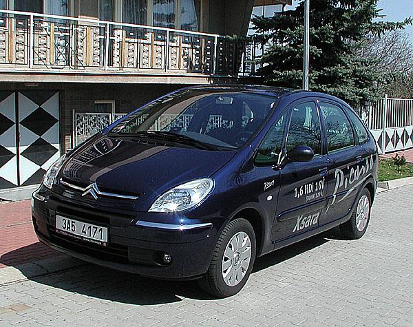 Citroen Xsara Picasso snovým naftovým motorem 1.6 HDi 16V