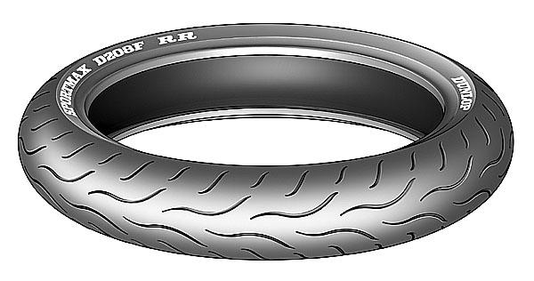 Závodní technologie na silnici: Dunlop představuje pneumatiku SPORTMAX D208 RR