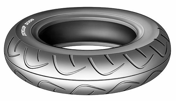 Nová motocyklová pneumatika Dunlop D306