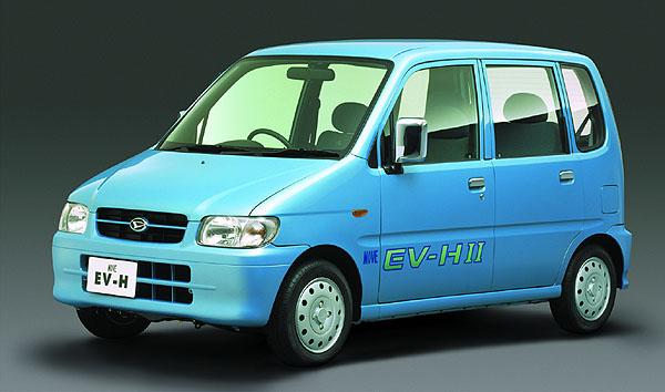 Daihatsu Move EV-H shybridním pohonem