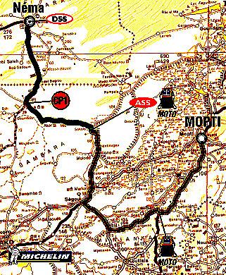 Co nového na rallye Dakar 10. a 11. ledna 2004