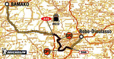 Rallye Dakar pokračuje dnes - 13. ledna 2004 již 12. etapou