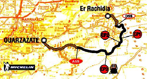 4. ledna 2004 - 4. etapa Rallye Dakar