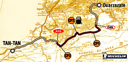 5. ledna 2004 - 5. etapa Rallye Dakar