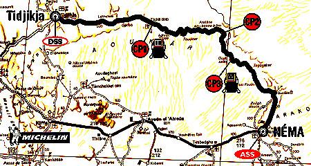 9. ledna 2004 soutěžící absolvovali 9. etapu Rallye Dakar