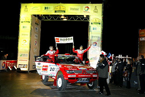 Včera – 1. ledna 2004 proběhla 1. etapa Rallye Dakar