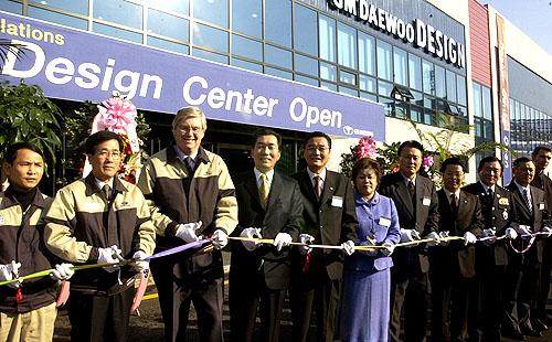 Automobilka GM Daewoo otevřela nové designerské centrum vBupyungu
