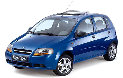 Bariérové testy vUSA potvrdily mimořádnou bezpečnost modelu Daewoo Kalos